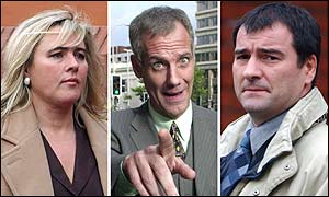 Heather Bossart, David Redfern, Mark Jennison