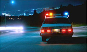 US police patrol