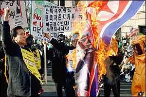 Anti-North Korea protests in Seoul