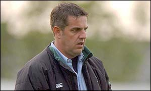 Steph Nel is coach of the Connacht rugby side which is under threat