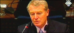 Paddy Ashdown, UN high representative in Bosnia
