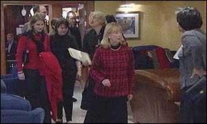 US Congresswomen in Belfast in fact finding mission