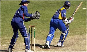 Jayasuriya batting in Sydney