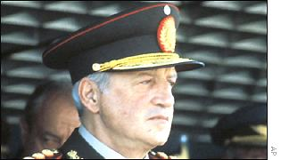 Former military dictator Leopoldo Galtieri