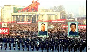A Rally in Pyongyang