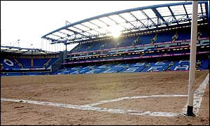 High stands create problems when it comes to pitch maintenance