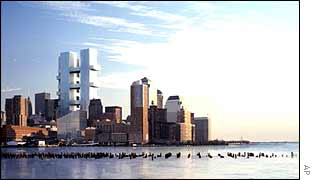 Proposed WTC plan by Richard Meier and Partners
