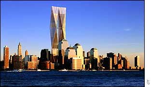 Proposed WTC design by Norman Foster and partners