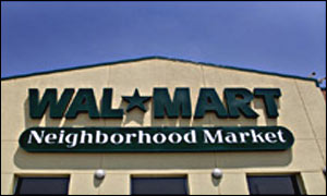 Wal-Mart is the world's largest retailer