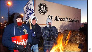GE strikers