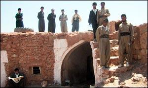 Kurdish village scene