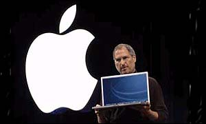 Apple chief Steve Jobs