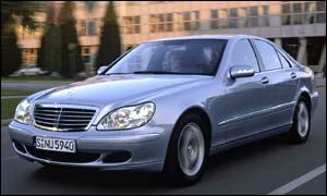 Luxury Mercedes model