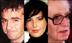 Marti Pellow, Sharleen Spiteri and the late Sir Jimmy Shand