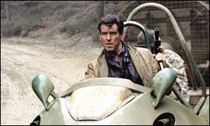 Pierce Brosnan as Bond in Die Another Day