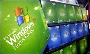 Microsoft windows display