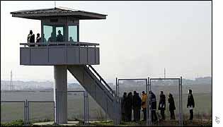 Watchtower at Sabiha Gokcen airport, Istanbul