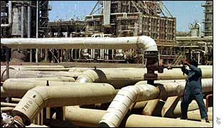 Iraqi oil field at Beiji