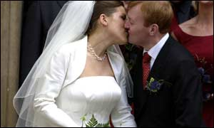 Charles Kennedy marries his wife Sarah