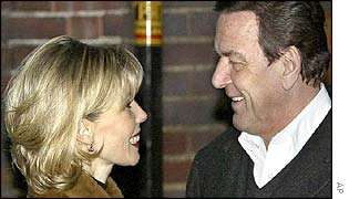 Doris and Gerhard Schroeder