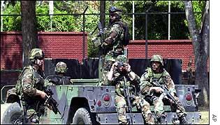 US army in Arauca