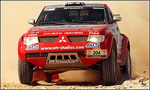 Stephane Peterhansel was forced out of Dakar Rally