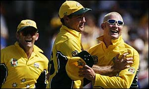 Michael Clarke (right)