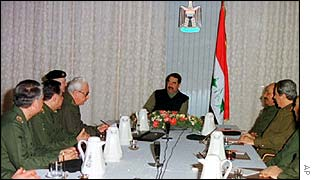 Saddam chairs session of Revolutionary Command Council