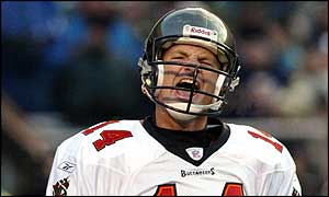 Tampa Bay quarterback Brad Johnson