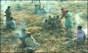 Malawi villagers