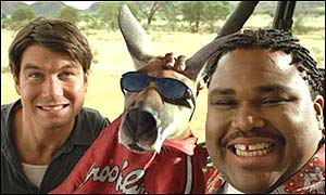 Jerry O'Connell and Anthony Anderson in Kangaroo Jack