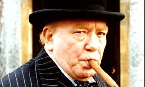 Albert Finney as Winston Churchill
