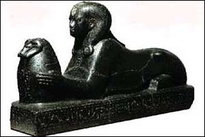 Black pharaoh [pic: Toulouse Museum]