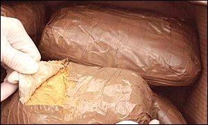Bags of heroin