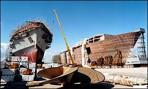 BAE superberth shipbuilding site