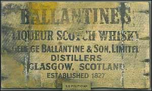 Whisky case panel