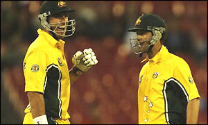 Hayden and Ponting