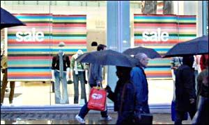 Sale at high street retailer Gap