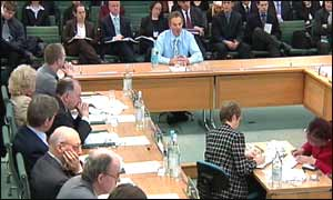 Tony Blair at scrutiny committee