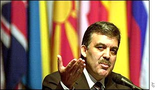 Turkish Prime Minister Abdullah Gul