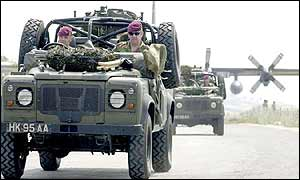 Troops from 16 Air Assault Brigades