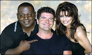 Randy Jackson, Simon Cowell and Paula Abdul