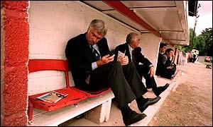 Cheltenham manager Bobby Gould