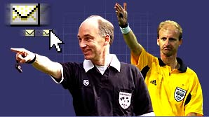 Mike Riley and David Ellery are two of Britain's top refs