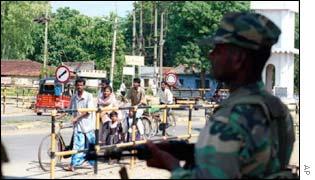 Soldier in Vavuniya