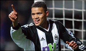 Jermaine Jenas is in good goalscoring form for Newcastle
