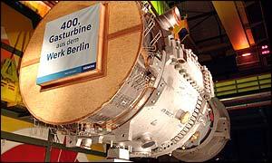 Siemens gas turbine