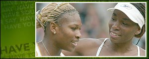 The sisters have faced each other in the final of the last four Grand Slams