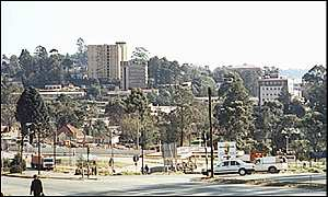 Mbabane was back to normal on Thursday