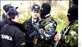 Lions talking to Macedonian police